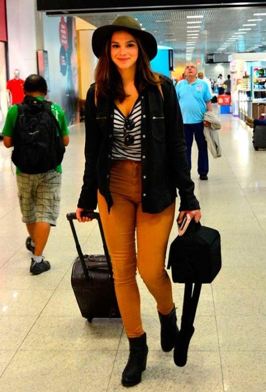 ideias de Look aeroporto para mulheres