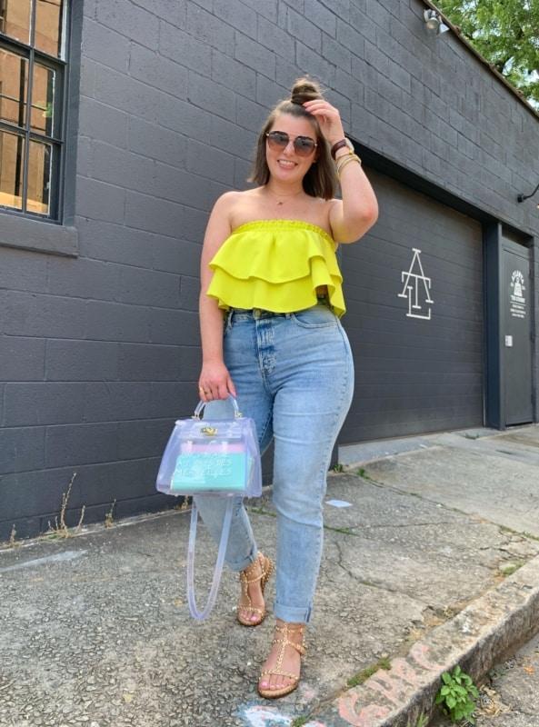 look com blusa amarelo neon 05