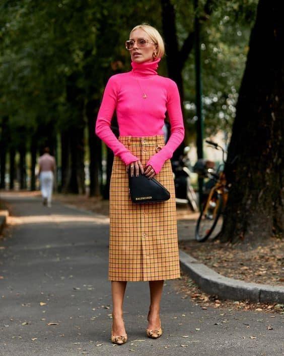 look com blusa rosa neon 08