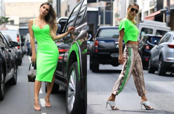 look com roupas neon 15