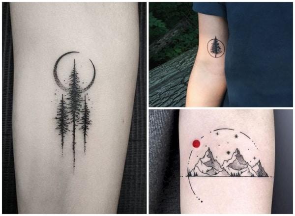 tatuagem natureza delicada