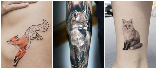 significado de tatuagem de raposa