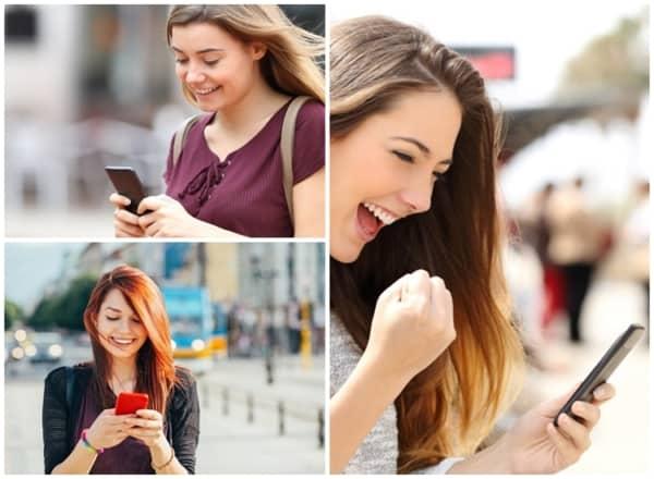 dicas para trocar mensagens por celular