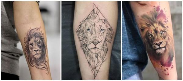 significado tatuagem de leao