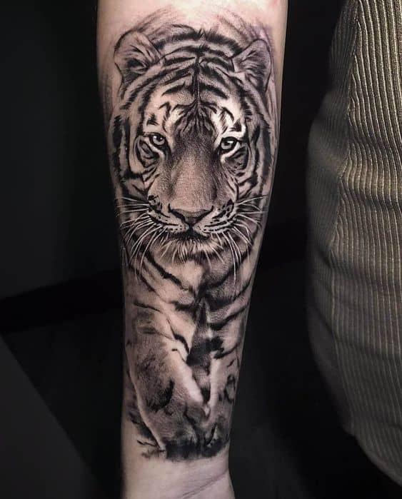significado de tatuagem de tigre