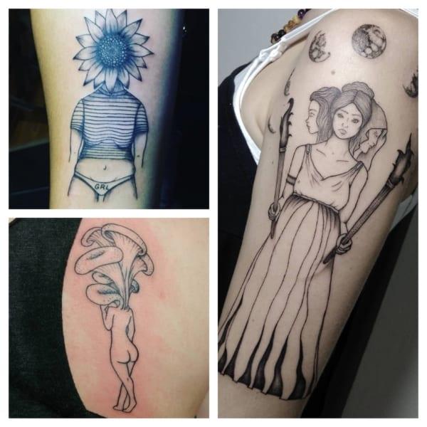 tattoos feministas modelos