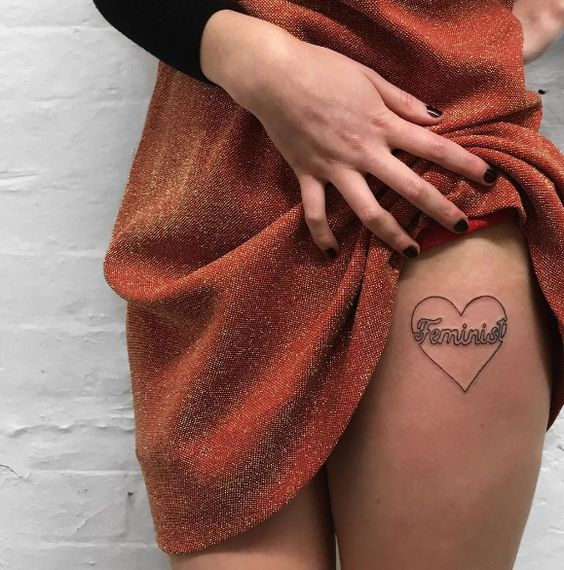 tatuagem feminista ideias