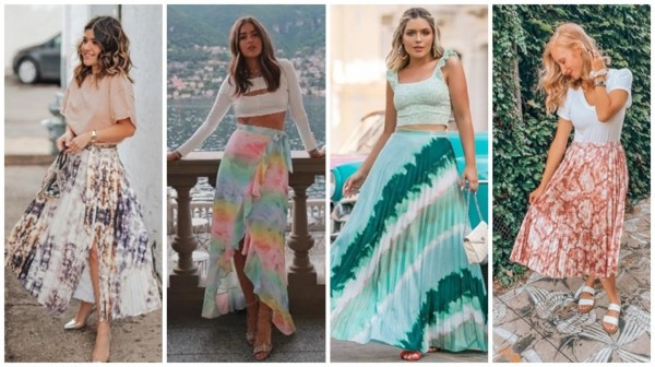 Saia Tie-Dye – Como Usar + 29 Looks Sensacionais!【2021】
