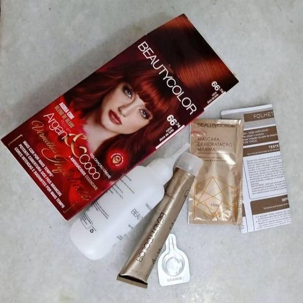 tinta para cabelo Beauty Color