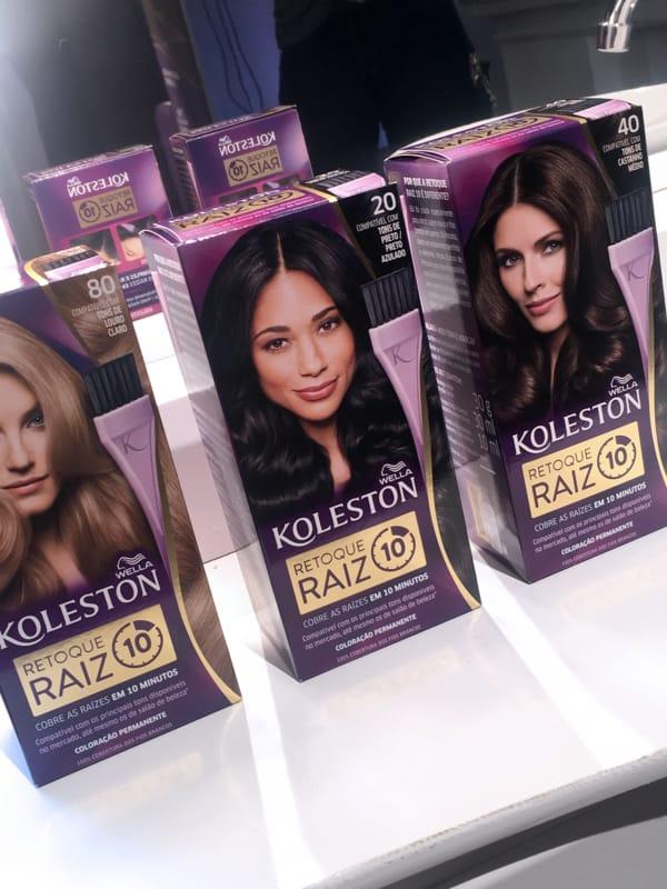 tinta para cabelo Koleston