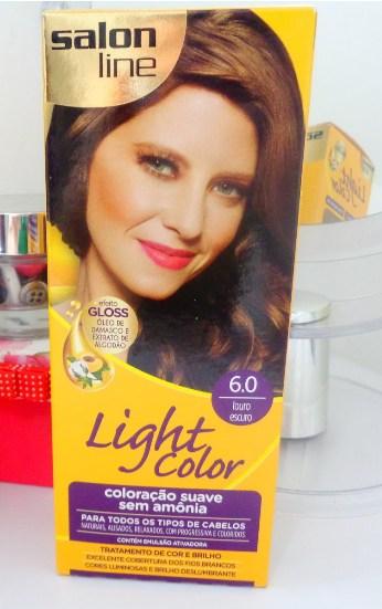 tinta para cabelo Salon Line