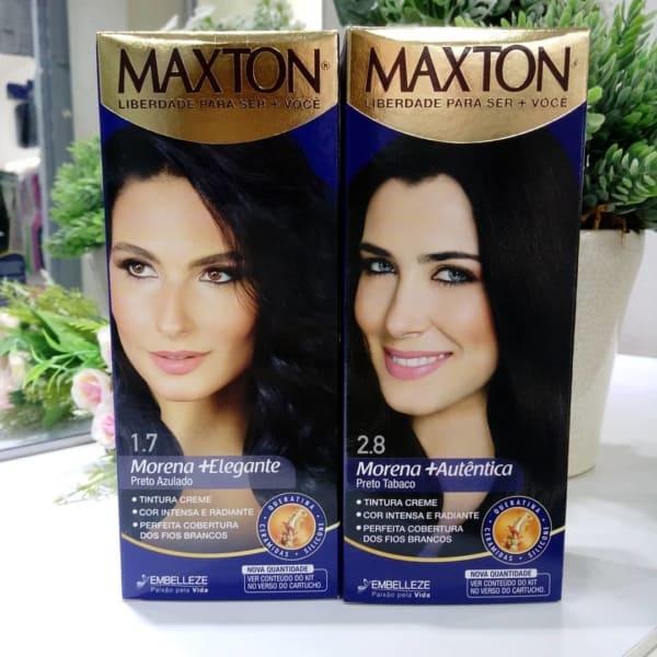 tinta de cabelo Maxton