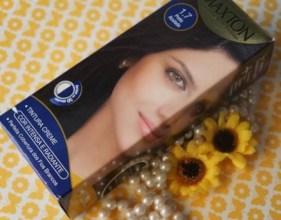 tintura para cabelo Maxton