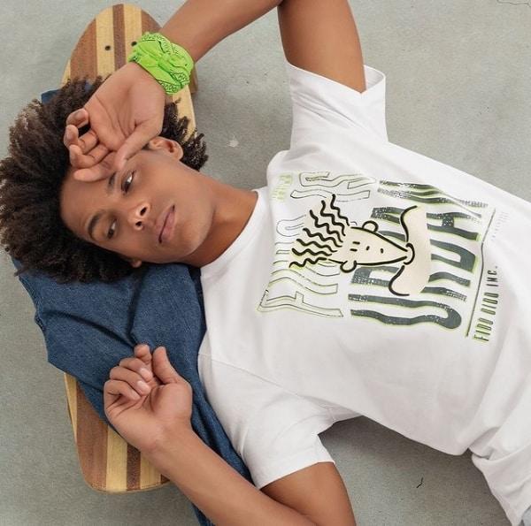 look com camiseta Fido Dido