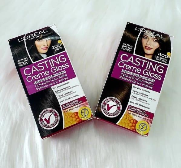marca de tinta para cabelo Casting Creme Gloss