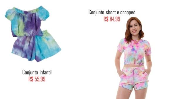 lojas para comprar conjunto tie dye