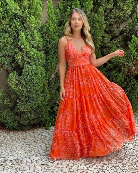 look com vestido de marca de roupa brasileira
