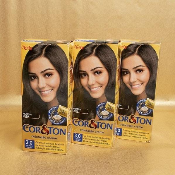 marca de tinta para cabelo Cor Ton