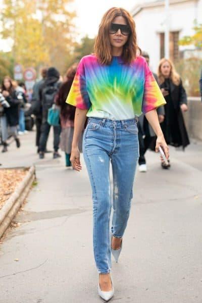blusa neon tie dye look 15