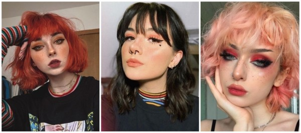 estilo de maquiagem e girl