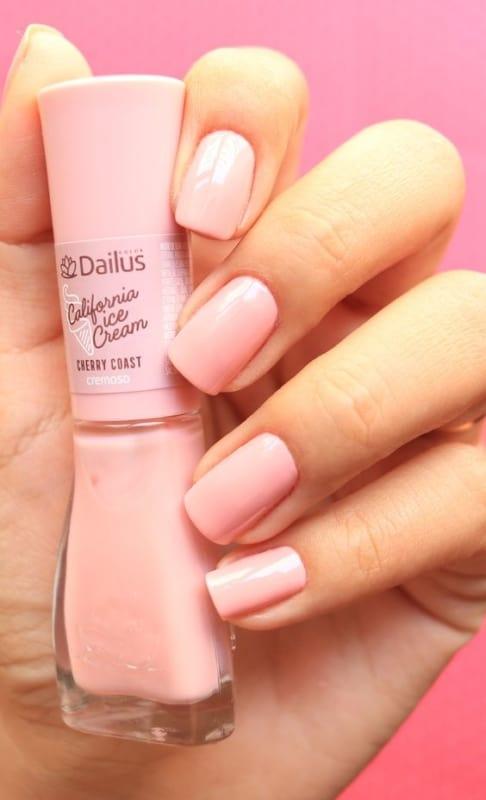 esmalte da moda rosinha Dailus