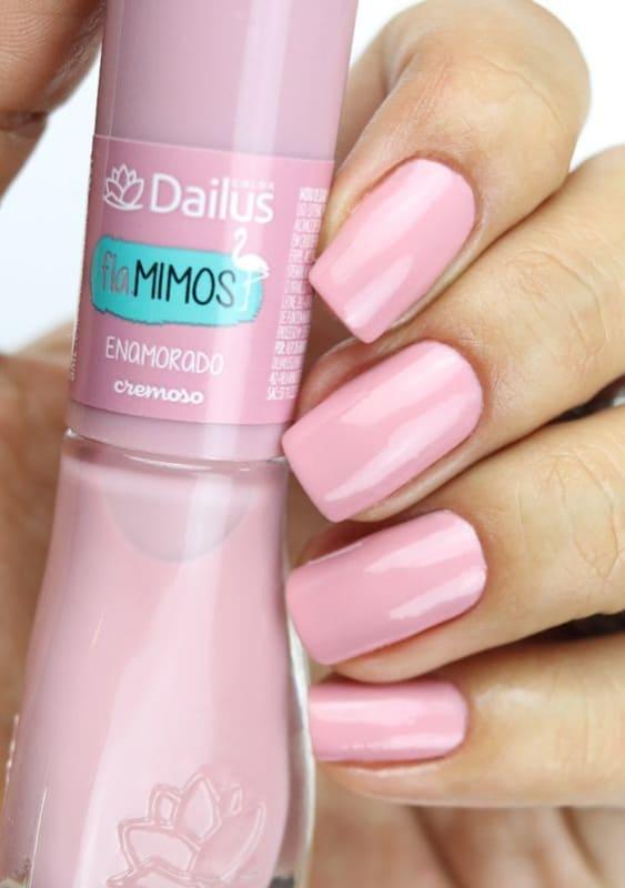 esmalte rosa clarinho Dailus