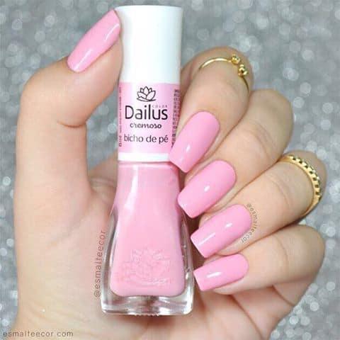 esmalte rosa bebe Dailus