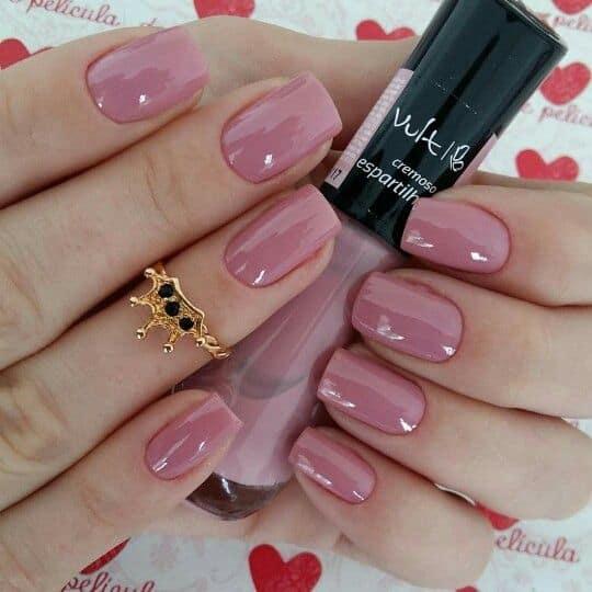 esmalte rosa antigo Vult