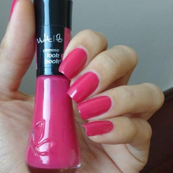 esmalte rosa escuro Vult