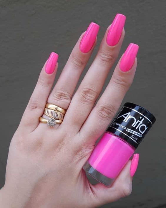 esmalte rosa neon Anita