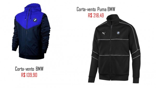 onde comprar corta vento masculina BMW
