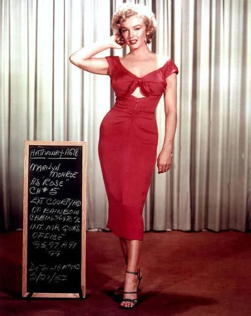 Marilyn Monroe estilo