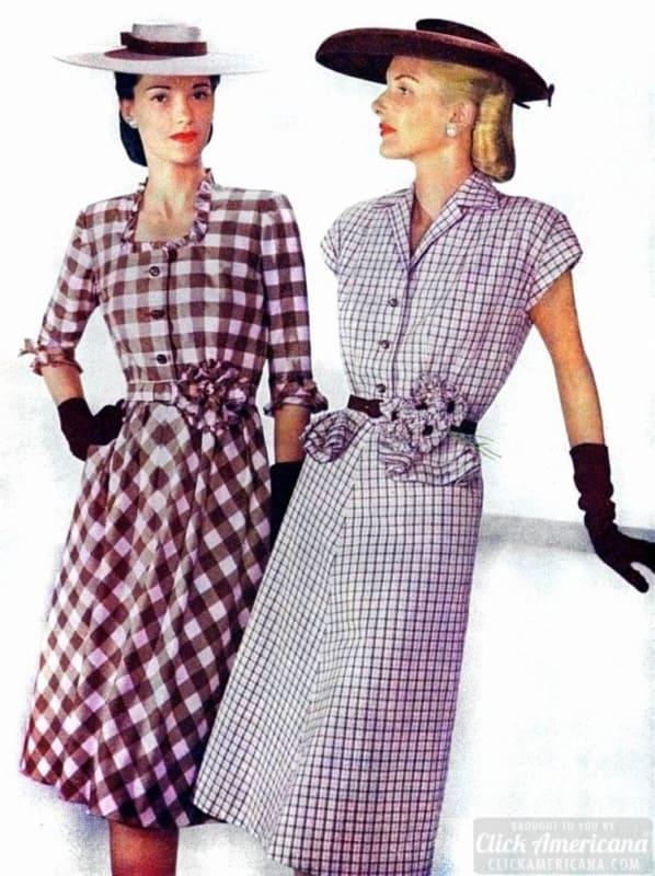 anos 50 moda