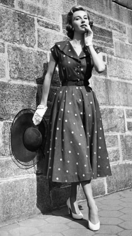 anos 50 roupas