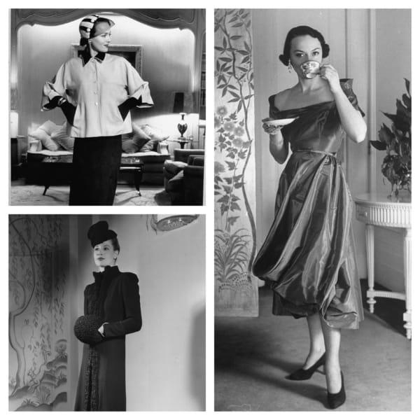 estilo moda anos 50