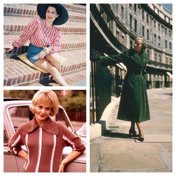 estilos moda anos 50