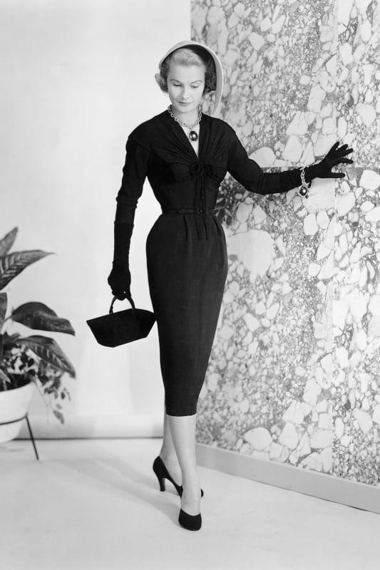 moda anos 50