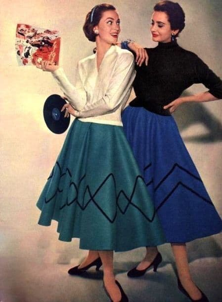roupas anos 50