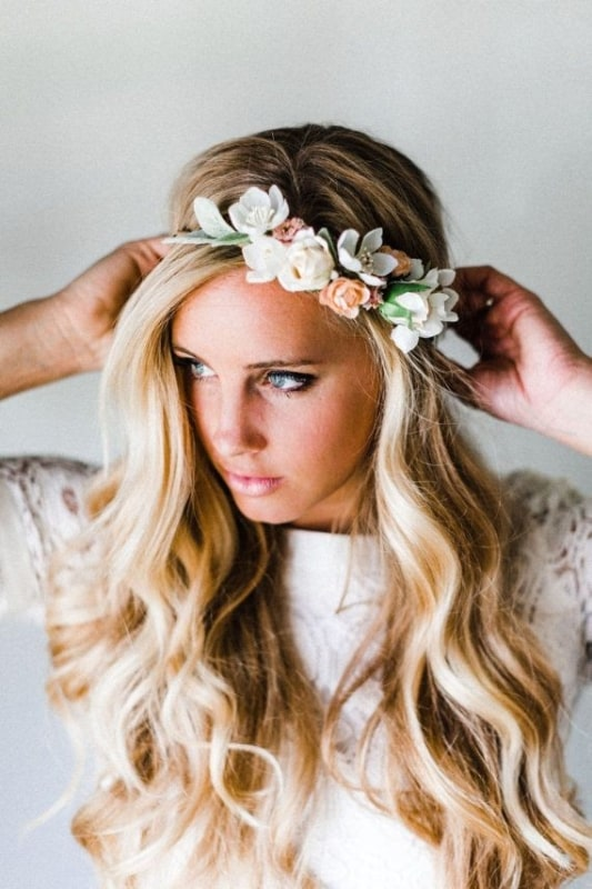 tiara flores para noivas 12