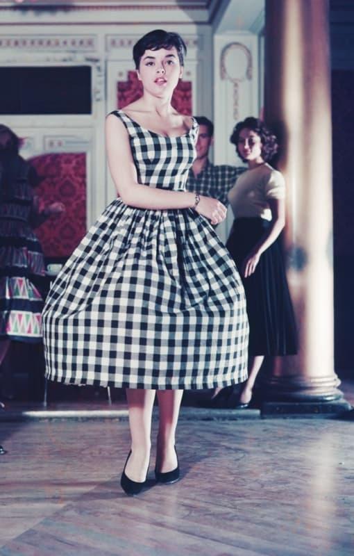 vestido anos 50 1