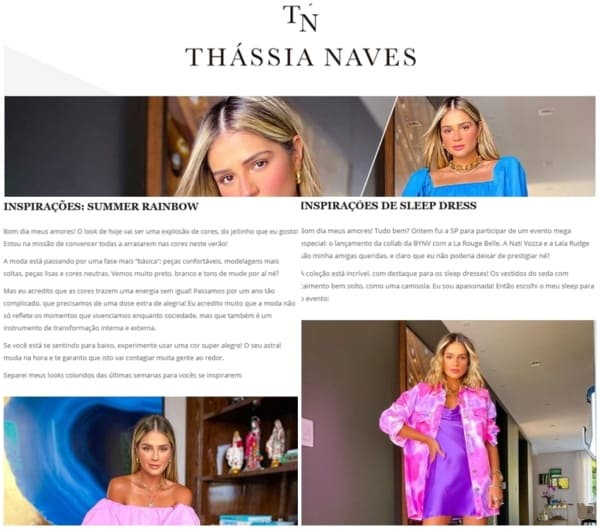 blog de moda Thassia Naves