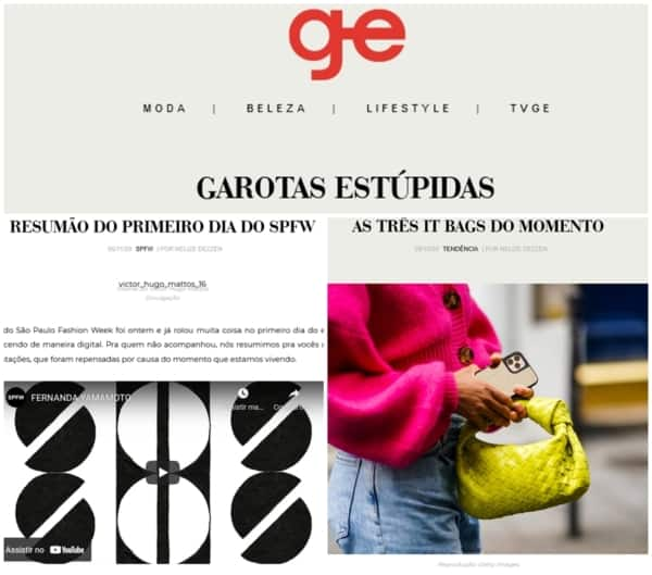 blog de moda Garotas Estupidas
