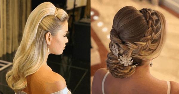 hairstyle casamento noite 70