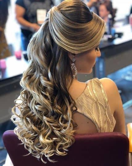 hairstyle casamento noite 74