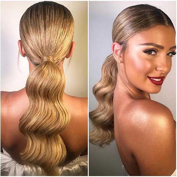 hairstyle casamento noite 75
