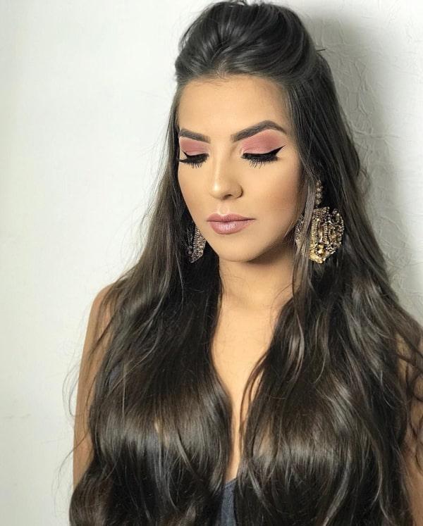 penteado para cabelo liso 29