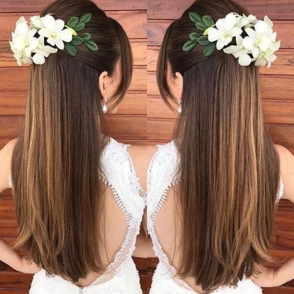penteado para cabelo liso 32