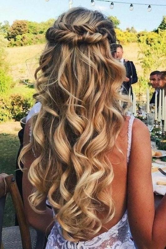 penteados simples para casamento 64