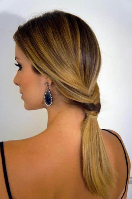 penteados simples para casamento 67