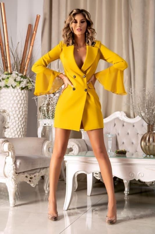 vestido de alfaiataria 12